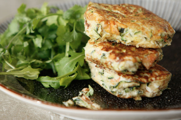 Vegetable & Feta Fritters